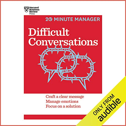 Difficult Conversations audiobook cover art