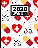 2020 Planner: Doctor 1-Year Daily, Weekly and Monthly Scheduling Organizer With Calendar For Doctors and...