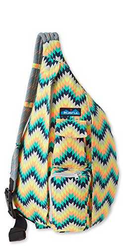 KAVU Rope Bag - Sling Pack for Hiking, Camping, and Commuting - Cactus Bloom