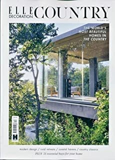 ELLE DECORATION MAGAZINE COUNTRY VOL.12 2018, THE MOST BEAUTIFUL COUNTRY HOMES.