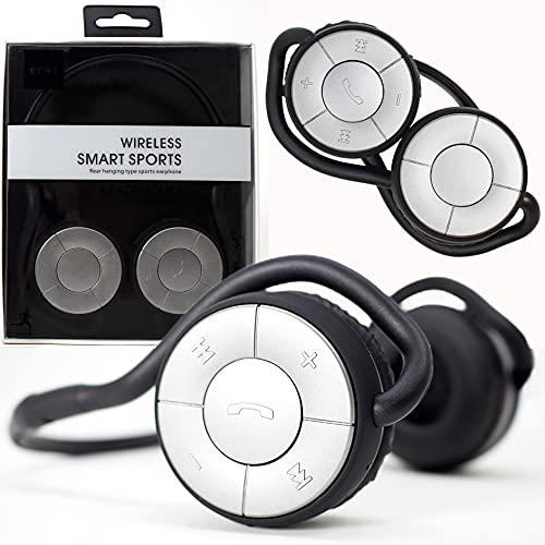 BT45 Bluetooth Wireless Smart Sport Headphones - Foldable neckband design,...