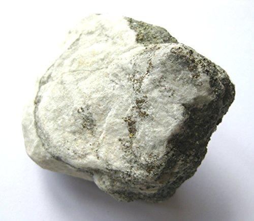 Rohstein Dolomit mit Pyrit