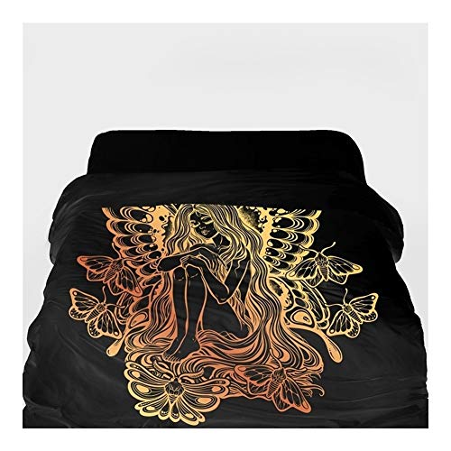 3D-Bettbezug Decke/Tröster Abdeckung 220x240 (Color : 32, Size : 155x215cm)