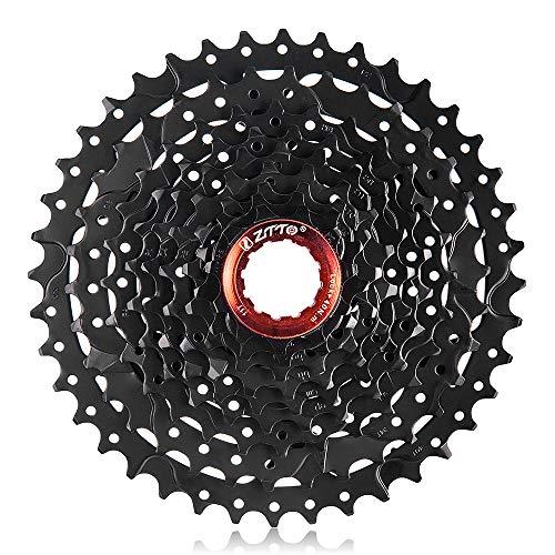 Lixada 9 velocità Cassetta per Bicicletta MTB Acciaio 11-40T Pignone Ruota Libera per Mountain Bike