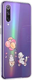 Oihxse Beschermhoes voor Samsung Galaxy J4 2018, [schattig, transparant, olifant, haas, motief serie] Beschermhoes gemaakt...