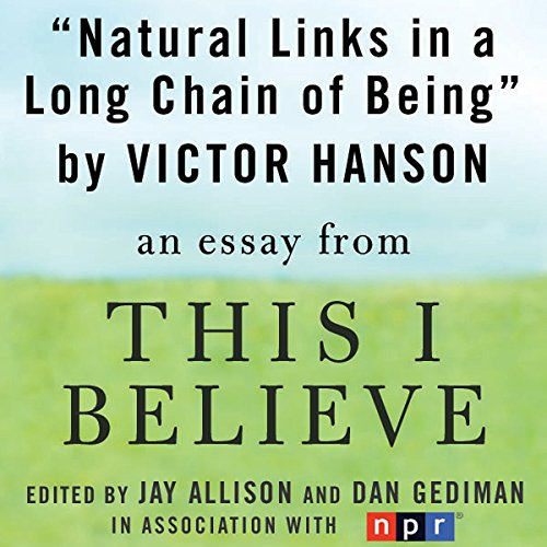 Natural Links in a Long Chain of Being audiobook cover art