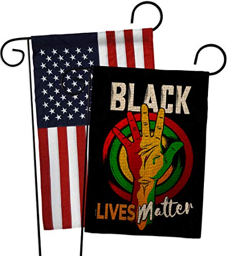 Black Lives Matterblack Freedom Civil Burlap Garden Flag Pack Support Cause Blm Anti Racism Revolution Movement Equality Social Usa Applique House Banner Small Yard Gift Double Sided Made In 13 X 18 5 Dailymail