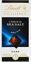 Lindt Excellence Bar (Dark Chocolate A Touch of Sea Salt),3.5 Ounce Package - Pack of 4