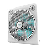 Cecotec Ventilador de Suelo EnergySilence 6000 PowerBox, 50 W, 5 aspas, 3 velocidades, Motor de Cobre, Regilla Rotatoria, Temporizador de 2h