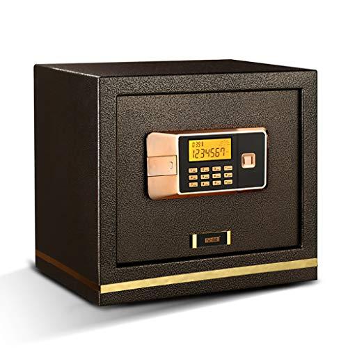 PIGE Caja Fuerte pequeña Oficina en casa Segura con Perno de Doble Cerradura de 20 mm a Prueba de Golpes, Sistema de Alarma Doble de gabinete de Acero, Independiente o incrustado