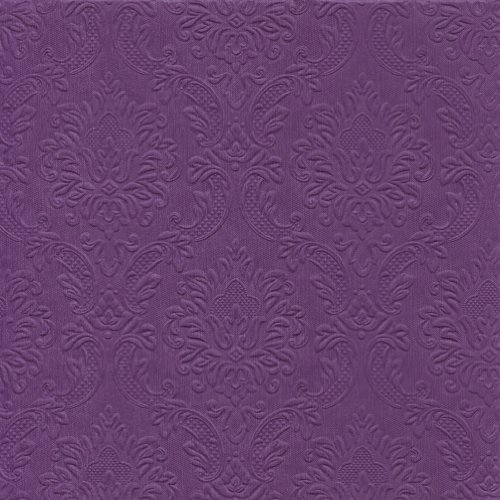 Susy Card 11237369 Serviette, Motiv Edition Limited, geprägt, Tissue, 40 x 40 cm, lila