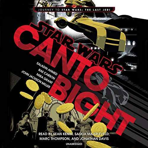 Canto Bight     Journey to Star Wars: The Last Jedi              Auteur(s):                                                                                                                                 Saladin Ahmed,                                                                                        Rae Carson,                                                                                        Mira Grant,                   Autres                          Narrateur(s):                                                                                                                                 Sean Kenin,                                                                                        Saskia Maarleveld,                                                                                        Marc Thompson,                   Autres                 Durée: 11 h et 5 min     24 évaluations     Au global 4,1