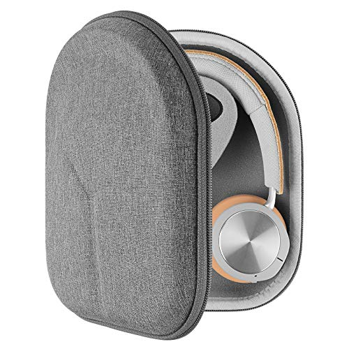 Geekria UltraShell Case for Bang & Olufsen B&O Play Beoplay H9 3rd Gen, H9i, H4, H9, H8, H6, H2 Headphones, Replacement Protective Hard Shell Travel Carrying Bag with Room for Accessories