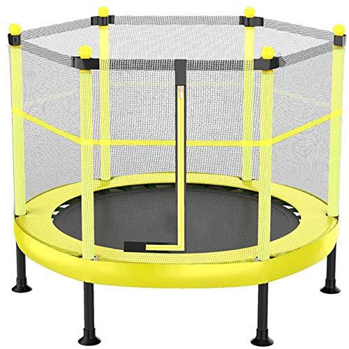LZQHGJ YAJIAN Trampolín, trampolín Redondo Plegable, Gimnasio Profesional Reboteador Premium Safety Net for Kids Home Tiene hasta 200 kg/código de Productos básicos: YWBBB-759 (Size : 48 Inches)