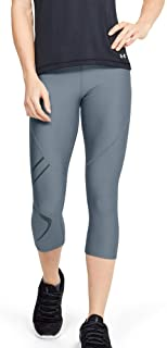 Under Armour Women's HeatGear Armour Graphic Capri Pants