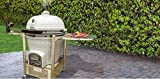 Icon Grills CG901 Charcoal Kamado Grill with Cabinet Cart