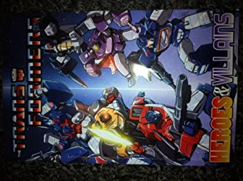 Hardcover Transformers Heroes and Villains Spotlight Paperback Book