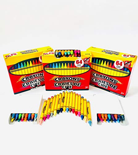 Jot Boxed Crayons with Sharpeners, 64-ct. Bonus Boxes