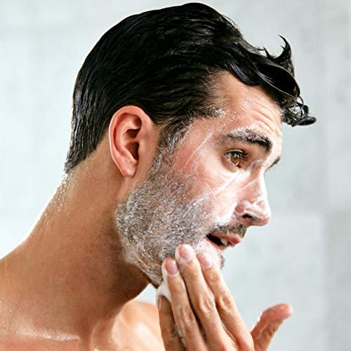 RUGGED & DAPPER Gommage exfoliant et nettoyant pour le visage pour hommes 237 ml
