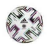 adidas Uniforia Training Soccer Ball White/Black/Signal Green/Bright Cyan 3