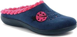 inblu Pantofole Ciabatte Invernali da Donna Art. EC-62 Blu New