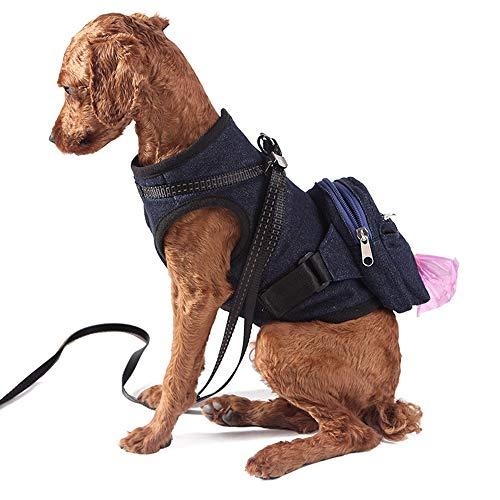 JESSIEKERVIN YY3 Pet Brust zurück Hunderucksack Welpen aus Rucksack Brustbeutel Rucksack (Farbe, Size : Einheitsgröße)