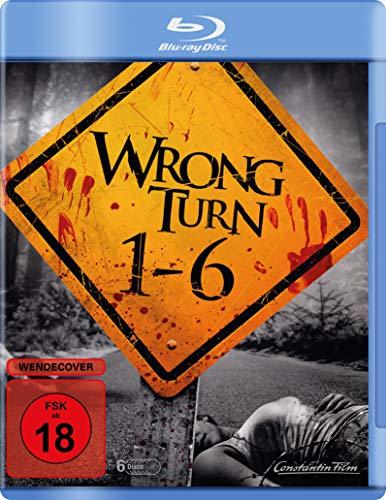 Wrong Turn 1-6 [Blu-ray]