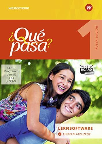 ¿Qué pasa? - Ausgabe 2016: Lernsoftware 1: Einzelplatzlizenz: Lehrwerk für Spanisch als 2. Fremdsprache ab Klasse 6 oder 7 - Ausgabe 2016 / ... ab Klasse 6 oder 7 - Ausgabe 2016)
