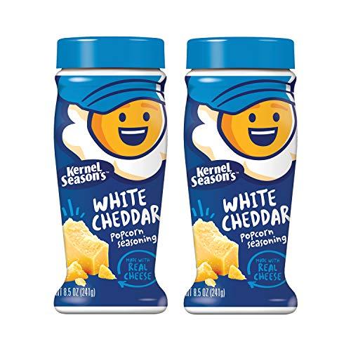 Kernel Season's White Cheddar Seasoning, 8.5 Ounce Shakers (Pack of 2)