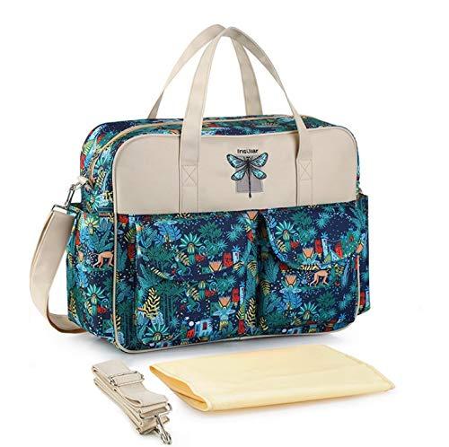 Insular® Multifunctional Waterproof Mummy Shoulder Bag Diaper Bag Chic...