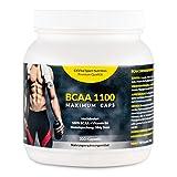 EXVital BCAA 1100 Maximum Caps, Aminosäure, 300 Kapseln in Spitzenqualität, mit Vitamin B6, 1er...