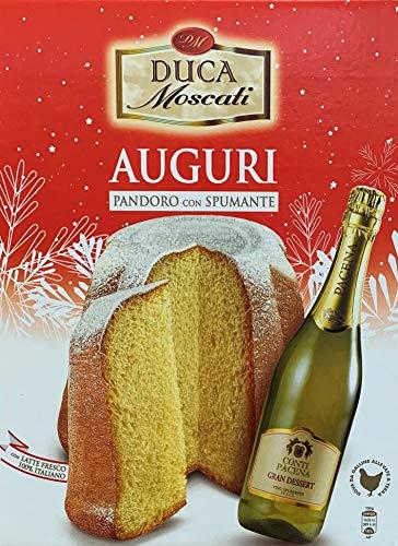 Paquete de regalo - Pandoro y vino espumoso - Duca Moscati