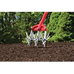 """Garden Weasel Cultivator – Break Up Soil, Detachable Tines, Long Handle, 54.5"""" Long 17 Save time, effort, and your back! – sometimes the simplest ideas are the Best. This durable and easy-to-use cultivator breaks up soil with ease and cleans itself with each turn, saving your time and body at a very affordable cost! Easy to use – simply apply the Garden Weasel to the soil and cultivate with a back-and-forth motion. For easier cultivating, slightly wet the soil. Detach 1 or 2 tines for work between narrow garden rows. Grow healthier plants - cultivating allows moisture and air to get below the packed soil, yielding healthier plants and roots. It also helps to conserve water Because water won't run off cultivated soil like it does hard-packed soil."""