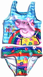 Dreamwave colorful Tankini Toddler 2-Pc Swimsuit Peppa The Pig (5T) [並行輸入品]