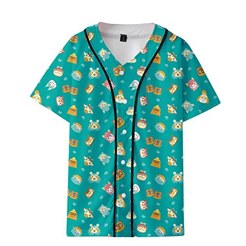 JCYY Humor Video Game Fans T-Shirts Funny Film Fans Tops Sommer Beiläufige Crew Tees Tops 3D Aufdruck Anime Rundhals Tshirts Geschenk zum Männer Frauen Jugendliche Kinder,A,XXS
