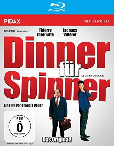 Dinner für Spinner (Le Dîner de cons) / Die originale französische Komödie mit Starbesetzung (Pidax Film-Klassiker) [Blu-ray]