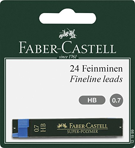 Minas 0.7 Hb Faber Castell Marca Faber-Castell
