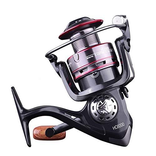 Carrete de pesca Rueda de pesca All Metal Spinning Wheel Línea de pesca de agua salada pesca de agua dulce (tamaño: tamaño libre; color: 2)
