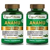 Organic Vitamins Anamu 1250mg 100% Organically Grown 240 Capsules Total Petiveria Allicea Guinea Hen Weed Vitamisan
