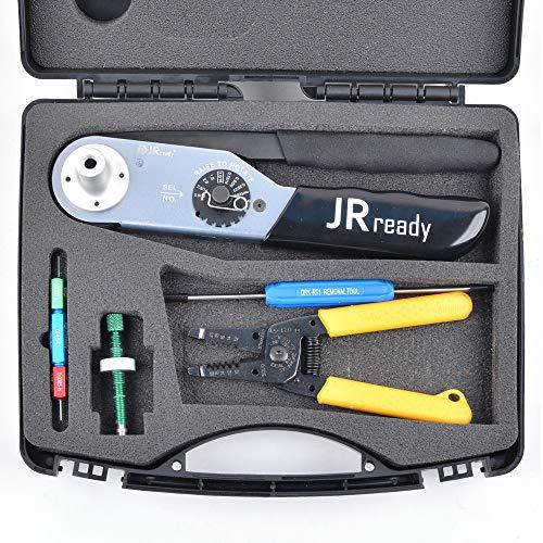 JRready JRD-HDT-48(HDT-48-00)+DRK-RT1+G454+45-120 Ideal stripper tool KIT JST2109S crimp 12#, 16#, 20# solid contacts of DT, DTM, DTP, DTV, DRB, DRCP and STRIKE series connectors 12-22AWG