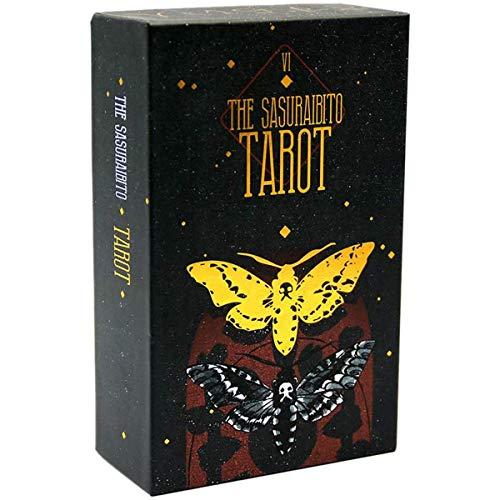 YMFZYM Das Sasuraibito Tarot, Tarotkarten für Anfänger, Family Party Destiny Divination Game, Kartensammelsets