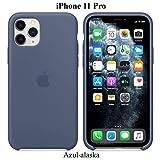 Funda Silicona para iPhone 11 Pro Silicone Case, máxima Calidad, Textura Suave,...