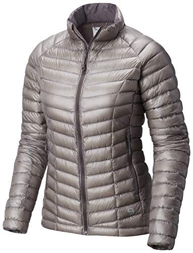 Mountain Hardwear Womens Ghost Whisperer Insulated Down Water Repellant Jacket, Non-Hood -Mystic Purple - M