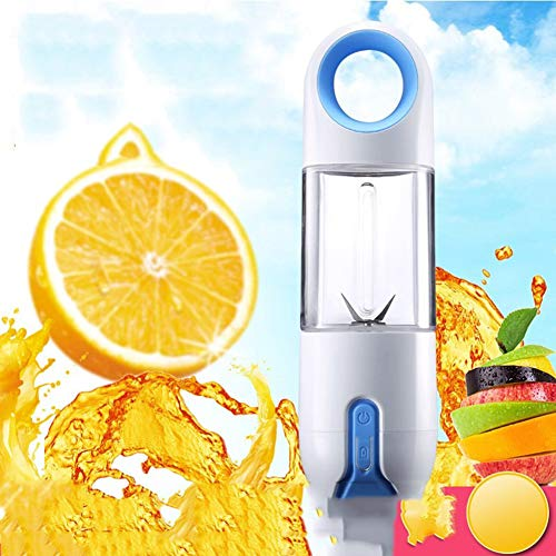IGRNG Kleine Juicer Maschine tragbare Mini-tragbare USB aufladbare Entsafter, Kinder Saft, Saft Cup, leicht zu tragen Im Freien