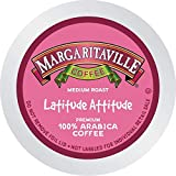 Latitude Attitude for K-Cup Keurig 2.0 Brewers, Margaritaville Coffee Medium Roast Single Serve Coffee Pods, 0.35 Ounce (Pack of 48)