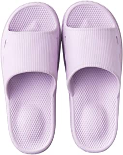 KINDOYO Mens Slippers - Unisex Anti-Slip Casual Bathroom House Slippers Soft Thick Sole Pool Shoes for Men and Women