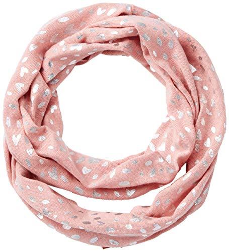 s.Oliver Mädchen 58.908.91.2830 Schal, Rosa (Dusty Pink AOP 42a6), 1 (Herstellergröße: 1)