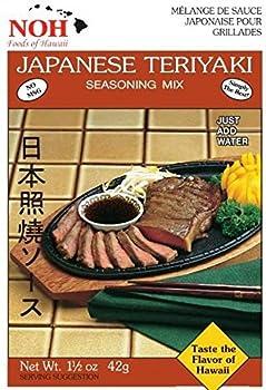 NOH Japanese Teriyaki 1.5-Ounce Packet  Pack of 12