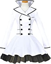 MYYH Anime Weiss Schnee Cosplay Costume White Dress Halloween