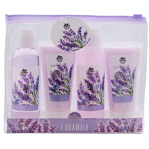 Becasan Nature Set de Viaje para Baño con Argán, 300 ml